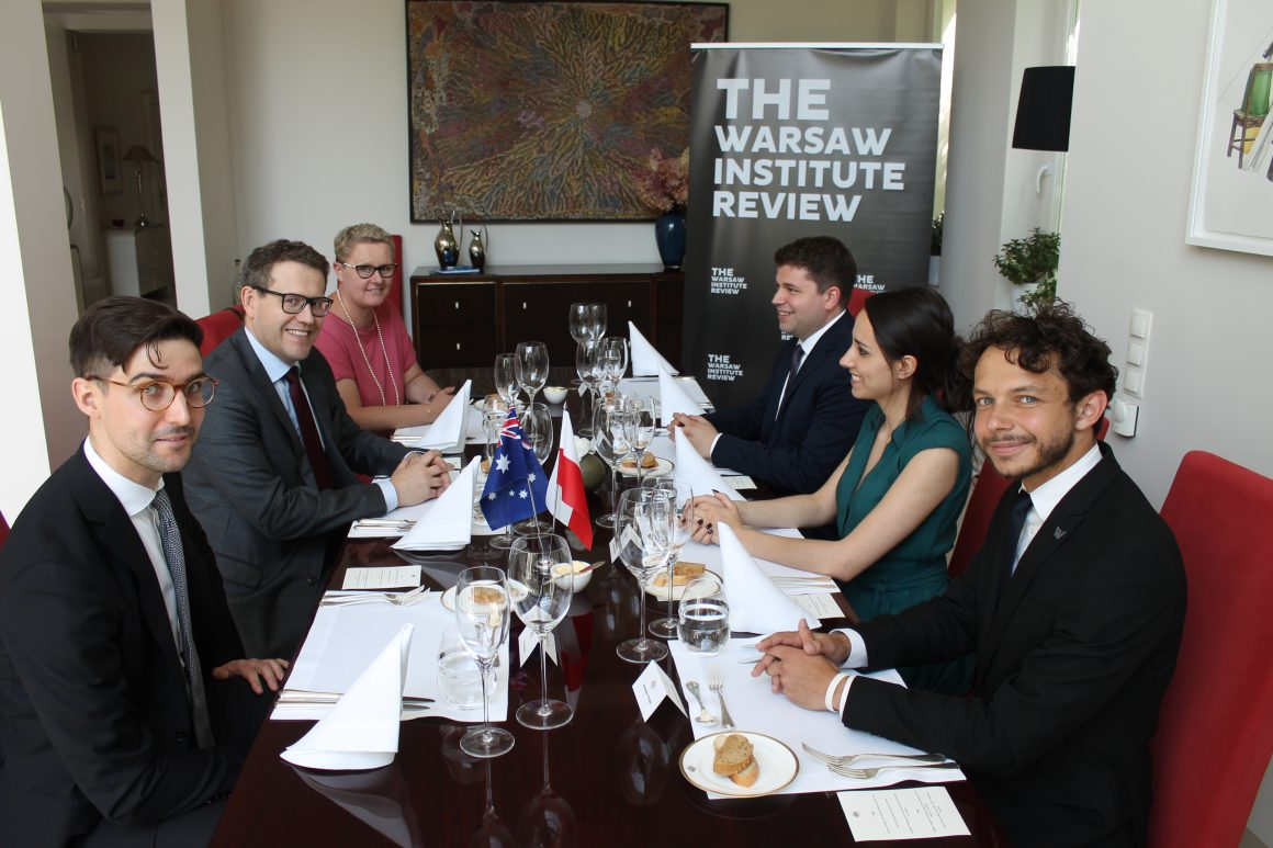 Strategy Duologues on Geopolitics: Meeting of The Warsaw Institute Review with the Australian Ambassador