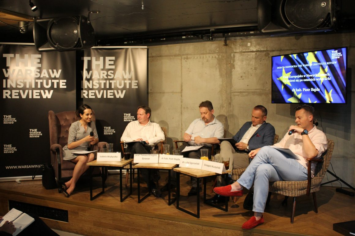 THE WARSAW INSTITUTE REVIEW EXPERT DEBATE:  THE EUROPEAN UNION IN THE NEW TIMES. WHAT WILL CHANGE AFTER THE LAST ELECTIONS?