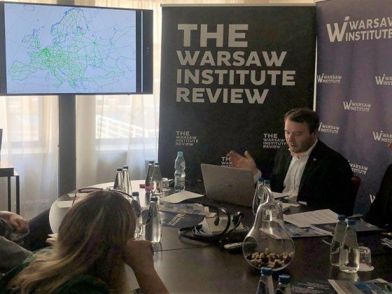 Warsaw Institute with Warsaw Institute Review gave a lecture at Study Visit of Bulgarian Journalists to Warsaw