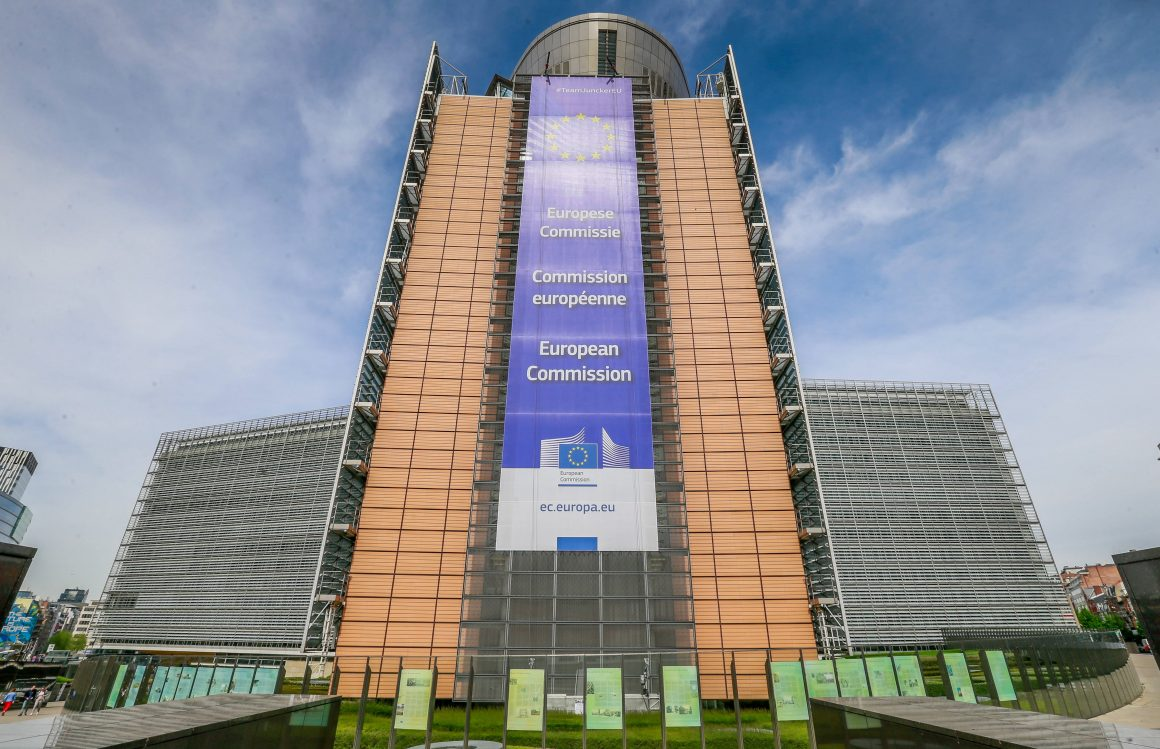 A GENERAL VIEW OF THE EUROPEAN COMMISSION, BERLAYMONT BUILDING IN BRUSSELS, BELGIUM, 23 APRIL 2019. © STEPHANIE LECOCQ (PAP/EPA)