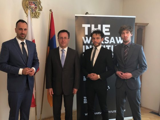 The Warsaw Institute Review in the Embassy of Armenia